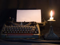 Typewriter the that has been used in the last century Royalty Free Stock Photography
