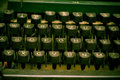 Typewriter keyboard - author concept Stock Images