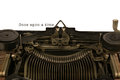 Typewriter With The Words Once Upon a Time Royalty Free Stock Photo