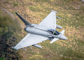 Typhoon eurofighter combat aircraft raf jet the worlds most advanced Stock Photography