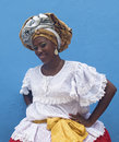 Typical African-Brazilian Woman Royalty Free Stock Photography
