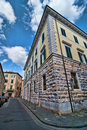 Typical Ancient Building in Pisa Royalty Free Stock Image