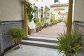 Typical Andalusian patio Royalty Free Stock Photo