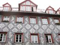 Typical Bavarian house, Furth, Germany