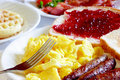 Typical Breakfast Royalty Free Stock Photo