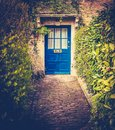 Typical Cosy English Village Home Royalty Free Stock Photo