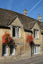 Typical Cotswolds houses Stock Images