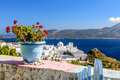 A typical Cycladic view Royalty Free Stock Photo