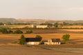 Typical danish landscape Royalty Free Stock Photo