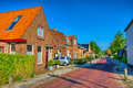 Typical Dutch Family Houses. M...