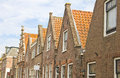 Typical Dutch houses Royalty Free Stock Photos