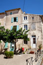 Typical French houses Royalty Free Stock Images