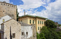 Typical houses in mostar bosnia herzegovina Stock Images