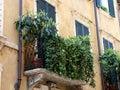 Typical Italian balcony Stock Photography