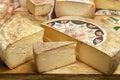 Typical Italian cheese Stock Photo
