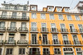 Typical Lisbon house facades Royalty Free Stock Photo