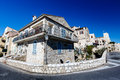 Typical Mediterranean House in Antibes Stock Photography