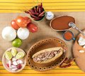 Typical Mexican cuisine Royalty Free Stock Photo