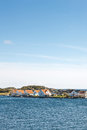 Typical norwegian houses on the vikaholmane island skudeneshavn Stock Photography