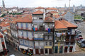 Typical old architecture in Porto(Portugal) Royalty Free Stock Photo