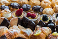 Typical pastries a nice view of italian Royalty Free Stock Photo