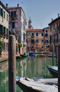 Typical photo of Venice city Royalty Free Stock Photos