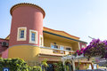 Typical portugese house in Lagos, Algarve Royalty Free Stock Photo