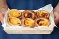 Typical Portuguese Dessert Pas...