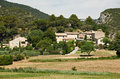 Typical Provence houses in Luberon, France Royalty Free Stock Photography