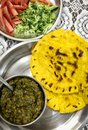 Makki di roti sarson ka saag Royalty Free Stock Photo