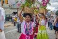 Typical Regional Mexican Wedding Parade know as Calenda de Bodas - Oaxaca, Mexico