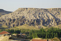 The typical rocks of Cappadocia, near Selime.