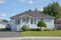 Typical 70s Bungalow house Royalty Free Stock Photo