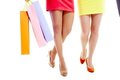 Typical shoppers Royalty Free Stock Image