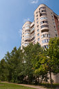 Typical socialist blocks of flats built during communism period in vilnius lithuania Stock Photo