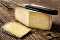 Typical soft cheese of Bergamo, Italy Royalty Free Stock Photos