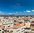 Typical south indian city madurai tamil nadu india Royalty Free Stock Photography