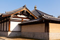 Typical structure eastern temple tennoji japan Royalty Free Stock Photography