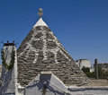 Typical trullo of alberobello Royalty Free Stock Photo