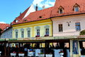 Typical urban landscape in Sibiu, European Capital of Culture for the year 2007 Royalty Free Stock Photo