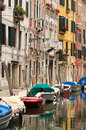 Typical Venice neighbourhood. Stock Photos