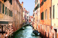Typical Venice street Royalty Free Stock Image