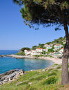 Typical Village on Elba Island Royalty Free Stock Image