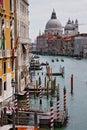 Typisches Venedig Stockbild