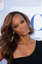 Tyra banks at the cbs showtime and cw party tca summer tour party beverly hilton beverly hills ca Royalty Free Stock Photos