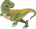 Tyrannosaurus Rex Dinosaur Vector Royalty Free Stock Photo