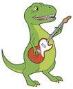 Tyrannosaurus rocker Stock Photos