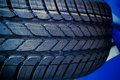 Tyre close up Royalty Free Stock Photos
