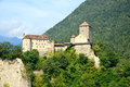 Tyrol castle view of the ancient and famous in trentino south Stock Photo