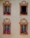 Tyrol windows Royalty Free Stock Photo